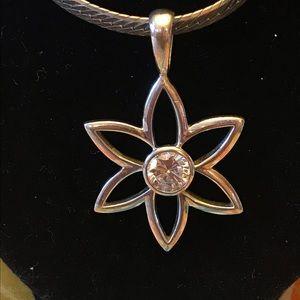 🤩Retired Silpada Flower Pendant